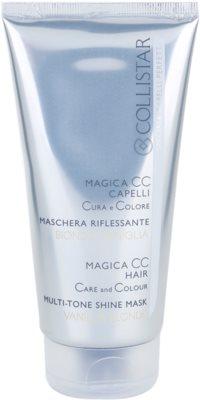 Collistar Magica CC mascarilla nutritiva con color  para cabello extra claro, blanco o con mechas