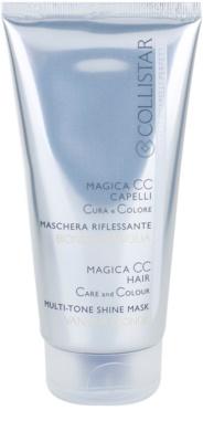 Collistar Magica CC odżywcza maseczka tonująca do włosów w odcieniu jasny blond, z pasemkami oraz siwych