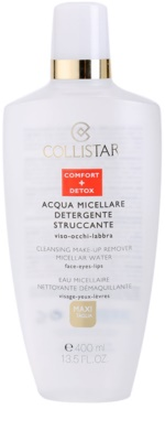 Collistar Make-up Removers and Cleansers agua micelar desmaquillante