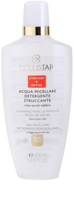 Collistar Make-up Removers and Cleansers mizellarwasser zum Abschminken