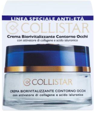Collistar Special Anti-Age Biorevitalizing Creme für die Augenpartien 3
