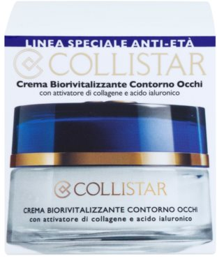 Collistar Special Anti-Age creme biorevitalizante para o contorno dos olhos 3