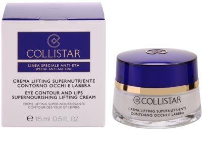 Collistar Special Anti-Age поживний крем-ліфтінг для шкіри очей та губ 1