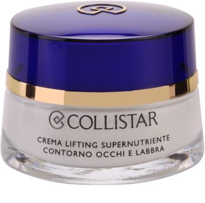Collistar Special Anti-Age crema nutritiva con efecto lifting para contorno de ojos y labios
