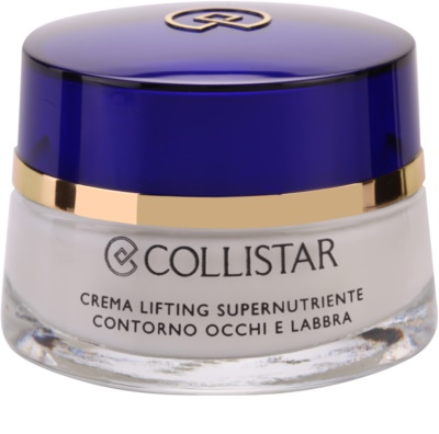 Collistar Special Anti-Age nährende Liftingcreme Für Lippen und Augenumgebung