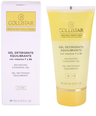 Collistar Special Combination And Oily Skins gel limpiador con vitamina F y B6 1