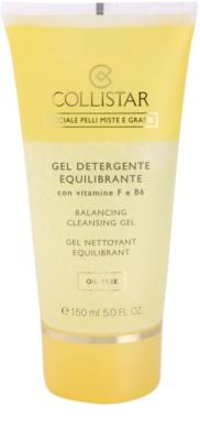 Collistar Special Combination And Oily Skins почистващ гел  с витамини F и B6