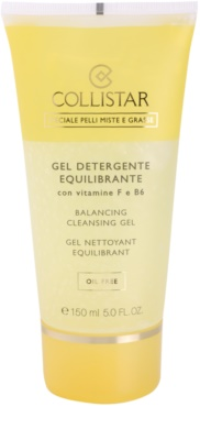 Collistar Special Combination And Oily Skins čistilni gel z vitaminoma F in B6