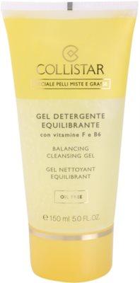 Collistar Special Combination And Oily Skins gel de curatare cu vitamina F si B6