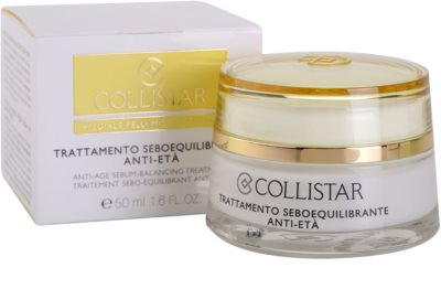 Collistar Special Combination And Oily Skins creme rejuvenescedor para regulação do sebo cutâneo 2