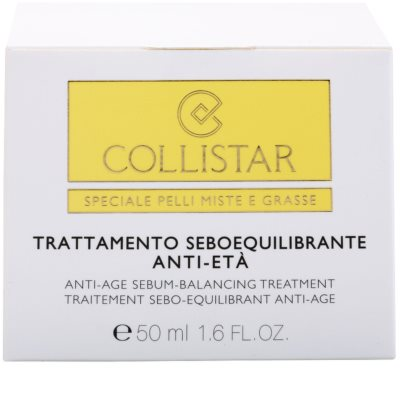 Collistar Special Combination And Oily Skins creme rejuvenescedor para regulação do sebo cutâneo 4
