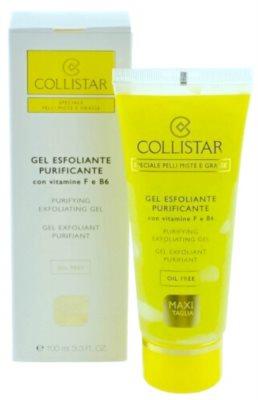 Collistar Special Combination And Oily Skins tisztító peeling kombinált és zsíros bőrre