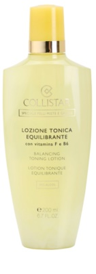 Collistar Special Combination And Oily Skins čisticí voda pro smíšenou a mastnou pleť