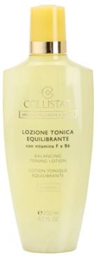 Collistar Special Combination And Oily Skins tisztító víz kombinált és zsíros bőrre