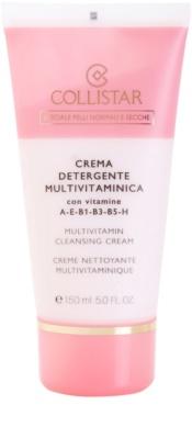 Collistar Special Active Moisture Reinigungscreme für normale und trockene Haut