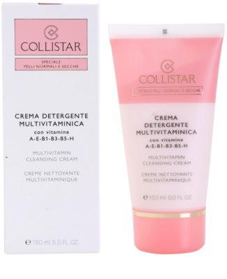 Collistar Special Active Moisture creme de limpeza para pele normal a seca 1