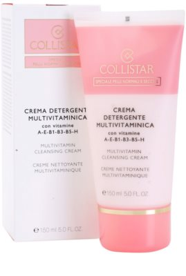 Collistar Special Active Moisture čistilna krema za normalno do suho kožo 2