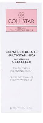Collistar Special Active Moisture čistilna krema za normalno do suho kožo 3
