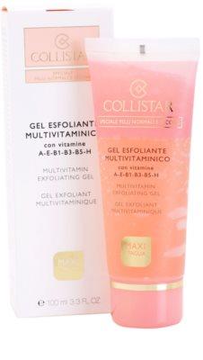 Collistar Special Active Moisture гель-ексфоліант для нормальної та сухої шкіри 2