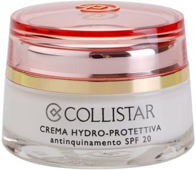 Collistar Special Active Moisture зволожуючий захисний крем SPF 20