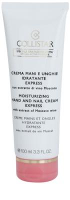 Collistar Special Active Moisture crema nutritiva de maini si unghii cu efect lucios