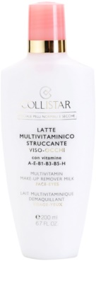 Collistar Special Active Moisture очищуюче молочко для нормальної та сухої шкіри