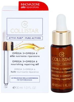 Collistar Pure Actives aceite esencial con complejo omega 3 y 6 1