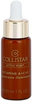Collistar Pure Actives активна сироватка для регенерації та відновлення шкіри