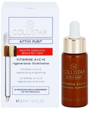 Collistar Pure Actives ser activ pentru regenerarea si reinnoirea pielii 1