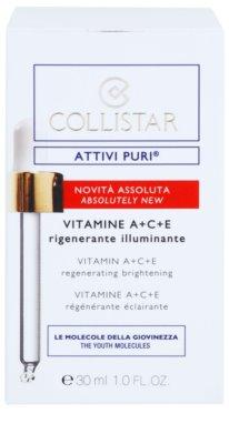 Collistar Pure Actives ser activ pentru regenerarea si reinnoirea pielii 2