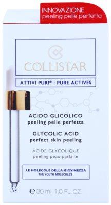 Collistar Pure Actives enzimatikus peeling glikolsavval 2
