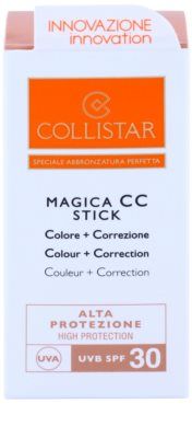 Collistar Sun Protection vodoodporni korektor SPF 30 3