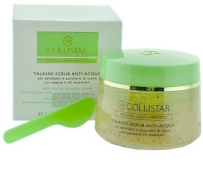 Collistar Special Perfect Body čistiaci telový peeling s morskou soľou