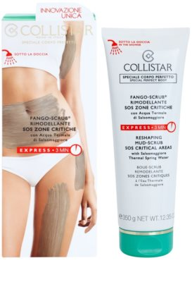 Collistar Special Perfect Body formázó iszap peeling 1