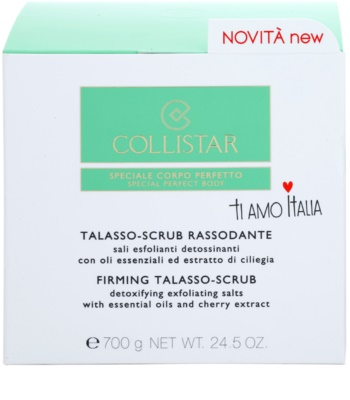 Collistar Special Perfect Body зміцнюючий пілінг для тіла 2
