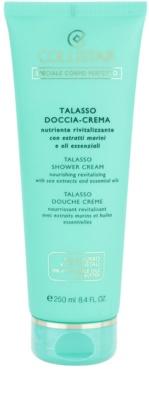 Collistar Special Perfect Body поживний та відновлюючий крем для душу з морськими екстрактами та есенціальними маслами
