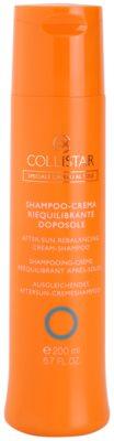 Collistar Hair In The Sun cremiges Shampoo nach dem Sonnen