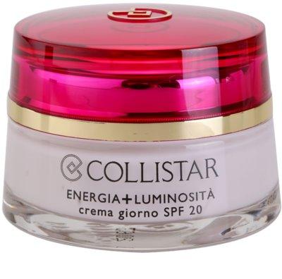 Collistar Special First Wrinkles denný protivráskový krém SPF 20