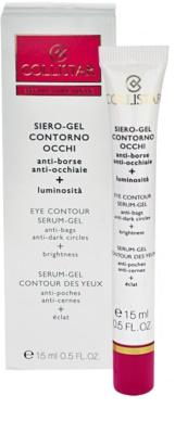 Collistar Special First Wrinkles gel de contorno de olhos contra olheiras e inchaços