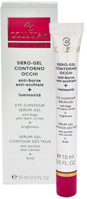 Collistar Special First Wrinkles gel za predel okoli oči proti oteklinam in temnim kolobarjem