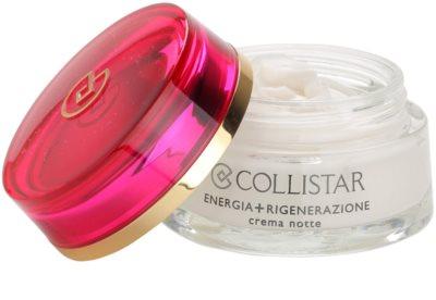 Collistar Special First Wrinkles éjszakai regeneráló feszesítő krém az érzékeny arcbőrre 1