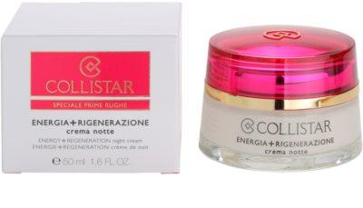 Collistar Special First Wrinkles éjszakai regeneráló feszesítő krém az érzékeny arcbőrre 3