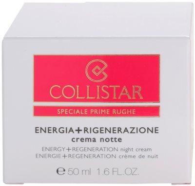 Collistar Special First Wrinkles éjszakai regeneráló feszesítő krém az érzékeny arcbőrre 4