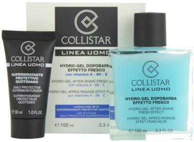Collistar Man borotválkozás utáni gél + nappali hidratáló krém minden bőrtípusra