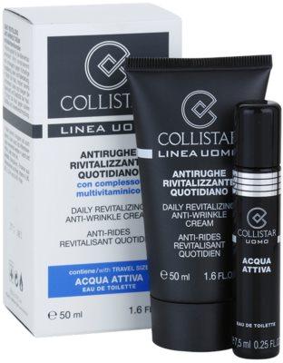 Collistar Man дневен ревитализиращ крем против бръчки 1