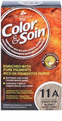 Color & Soin Blonde permanentní barva na vlasy s rostlinnými extrakty