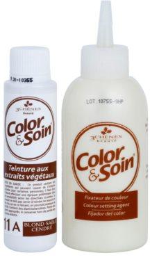 Color & Soin Blonde Permanent-Haarfarbe mit Pflanzenextrakten 2