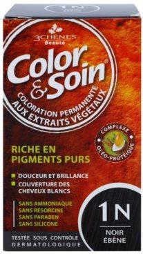 Color & Soin Brown & Chestnut tinte permanente para cabello con extractos vegetales
