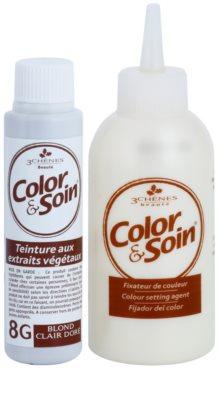 Color & Soin Golden cor para cabelo permanente com extratos vegetais 2