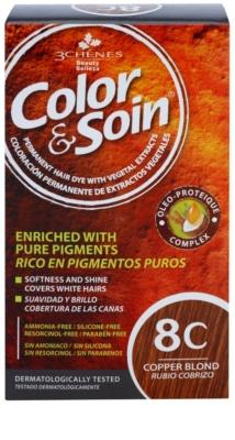 Color & Soin Red & Coppery Culoare permanenta pentru par cu extract de plante